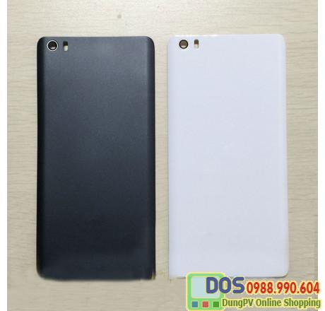 Nắp lưng Mi Note nhựa giả Gỗ,  vỏ sau điện thoại xiaomi
