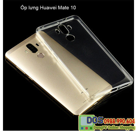 ốp lưng huawei mate 10 silicon