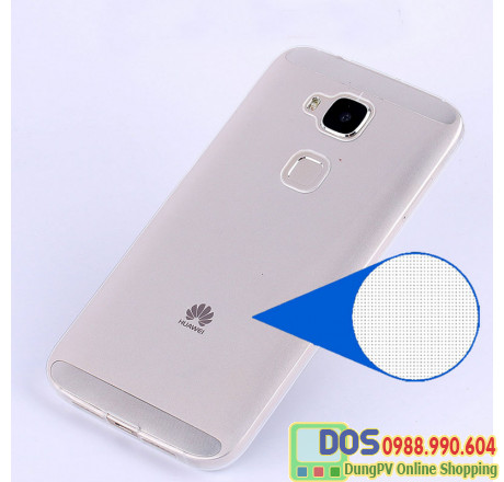 Ốp lưng Huawei G7 Plus silicone