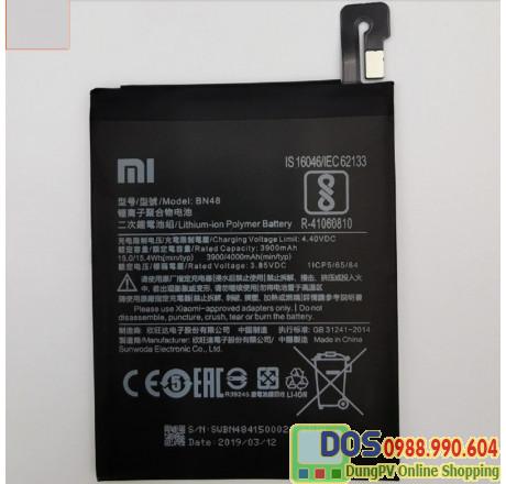 thay pin điện thoại xiaomi redmi note 6 pro chính hãng 2