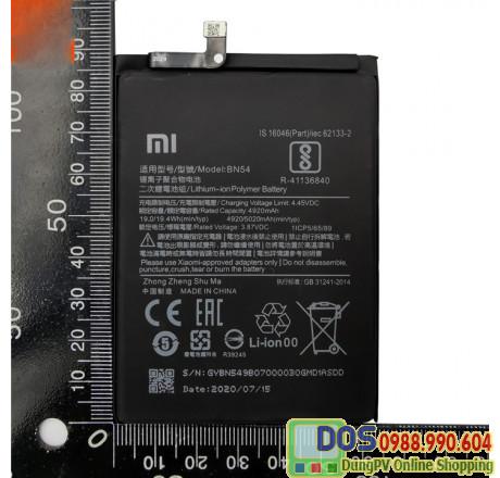 thay pin điện thoại xiaomi redmi note 9 chính hãng 2