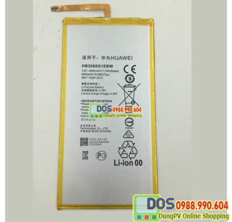 thay pin huawei t1-a21l, huawei t1 10 inch chính hãng 1