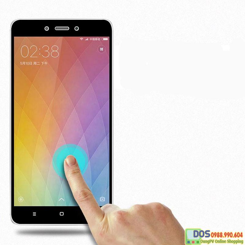 Miếng dán cường lực  Xiaomi  Redmi Note 4 full màn hình