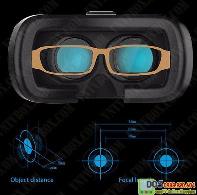 Bộ kính thực tế ảo  VR Box phiên bản 2+ tay chơi game bluetooth