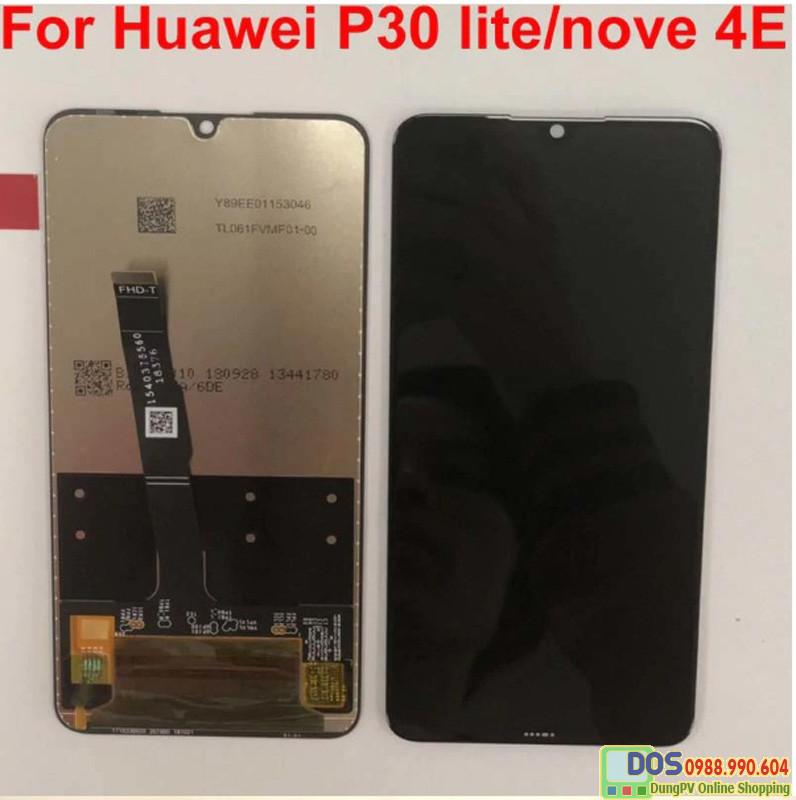 Mặt kính màn hình huawei p30 lite, huawei nova 4e