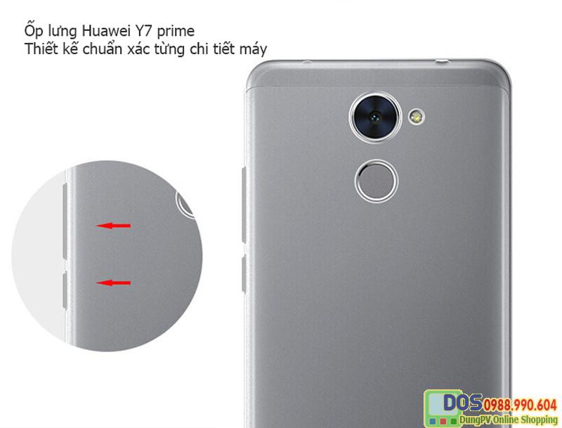 ốp lưng huawei y7 prime silicon 1