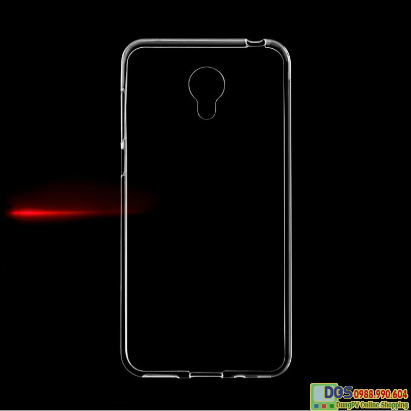 Ốp lưng Meizu M3s silicone trong suốt