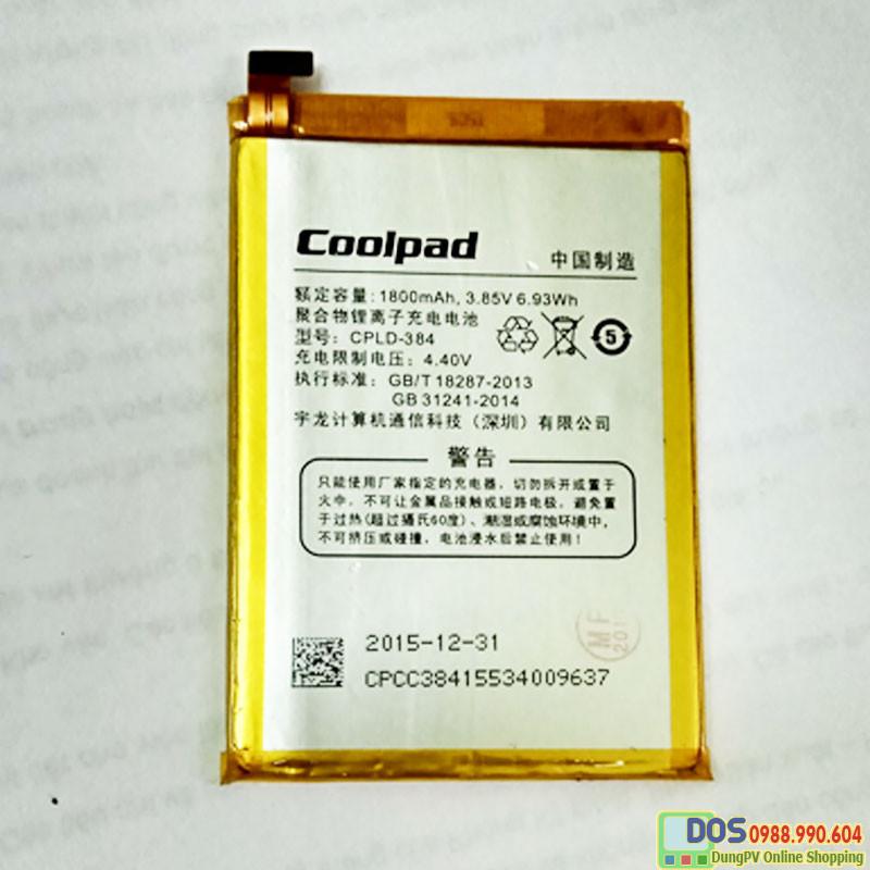 thay pin điện thoại coolpad fancy e561 chính hãng
