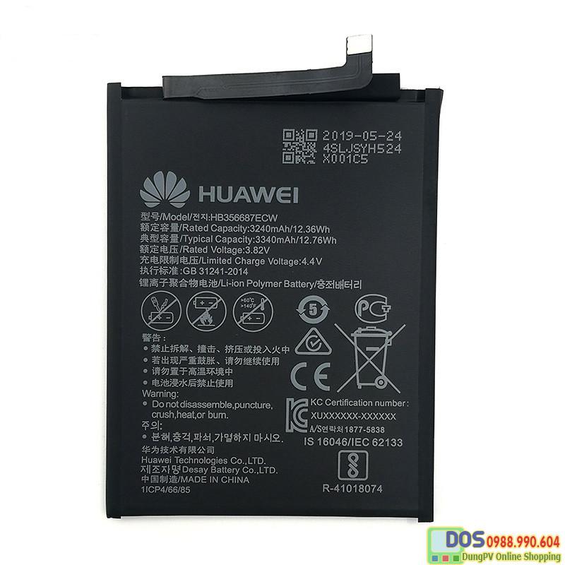 thay pin điện thoại huawei nova 2i chính hãng 5