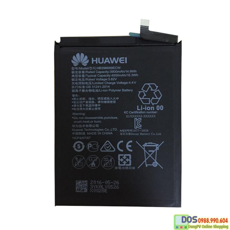 thay pin điện thoại huawei y9 2019 chính hãng 5