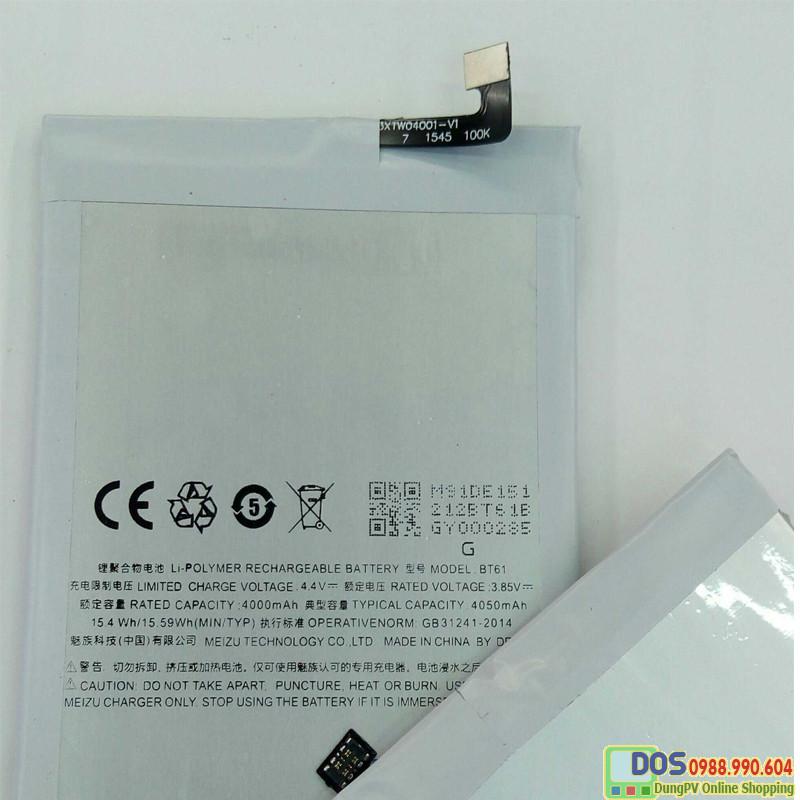 Pin điện thoại Meizu M3 Note  chính  hãng