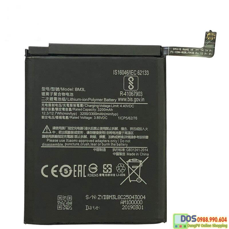 thay pin điện thoại xiaomi mi9 chính hãng 1