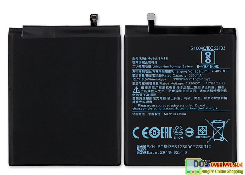 pin điện thoại xiaomi mi8 chính hãng 3