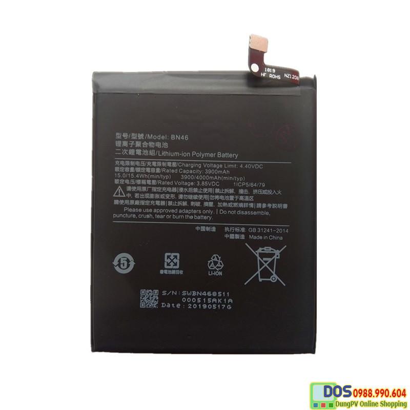 thay pin điện thoại xiaomi redmi note 8 chính hãng