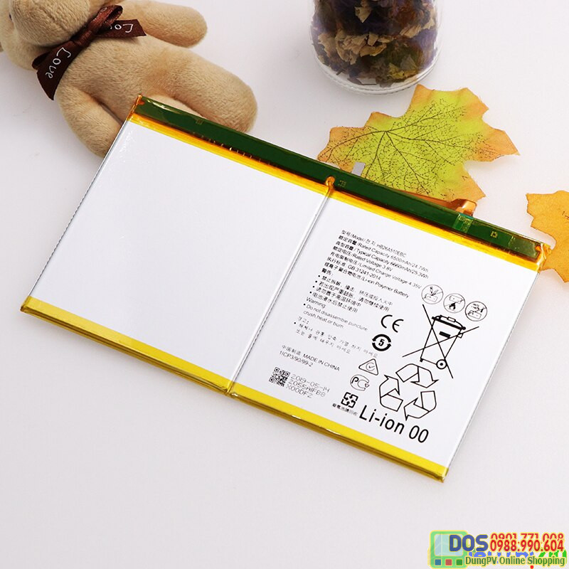 thay pin huawei mediapad m3 lite 10 inch chính hãng 2