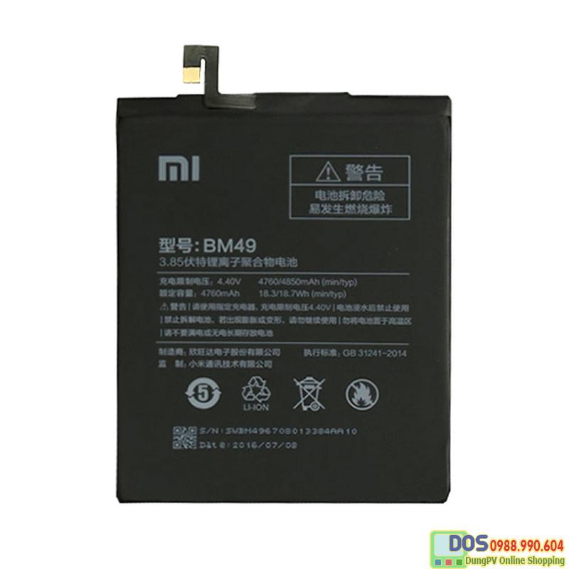 pin điện thoại xiaomi mi max chính hãng