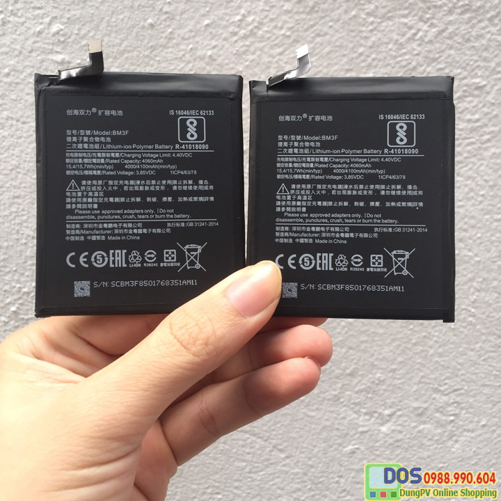 thay pin dung lượng cao xiaomi mi8 pro