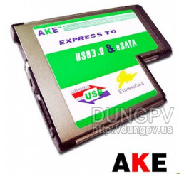 Express card to esata + usb 3.0 v1