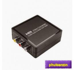 AV to HDMI 1080p - chuyển tín hiệu analog av ra hdmi Full HD