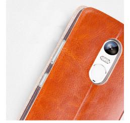 Bao da điện thoại  lenovo Vibe X3 hiệu Mofi