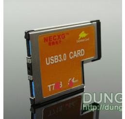 Express card 54 mm to 2 usb 3.0 v2