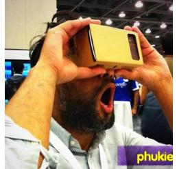 Google Cardboard kính thực tại ảo Virtual Reality (tự làm)
