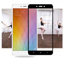 Miếng dán cường lực  Xiaomi  Redmi Note 4 full màn tặng kèm ốp lưng