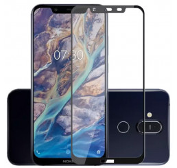 Kính cường lực nokia x7 2018 full màn hình, cường lực nokia 8.1