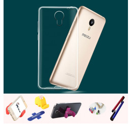 Ốp lưng silicone trong suốt Meizu  Blue Charm 2