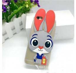 Ốp lưng Vivo Y51 silicone hình thỏ siêu kute
