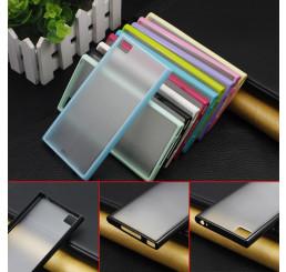 Ốp lưng xiaomi Mi3 nhựa cứng viền Silicone
