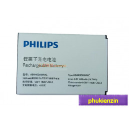 Pin điện thoại Philips V387