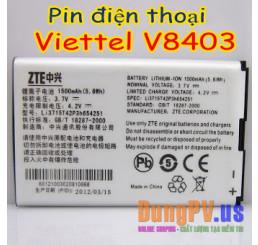 Pin điện thoại Viettel V8403 ZTE V791