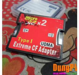 Thẻ Chuyển đổi Micro SD to CF