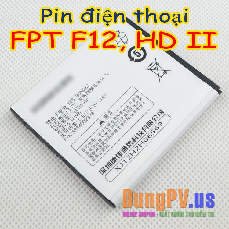 pin điện thoại FPT F12, FPT HD ii