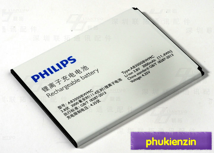 Bao da philips i928 sac pin i928